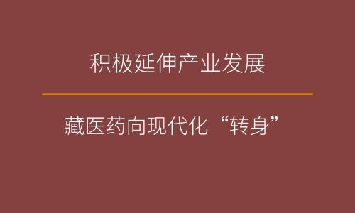 """积极延伸产业发展 藏医药向现代化""""转身"""""""
