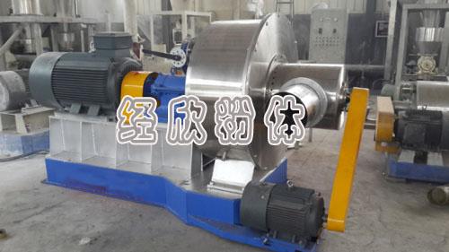 环保重压下经欣超细磨粉机节能和粉碎细度优势凸显
