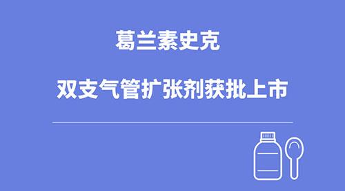 葛兰素史克双支气管扩张剂获批上市
