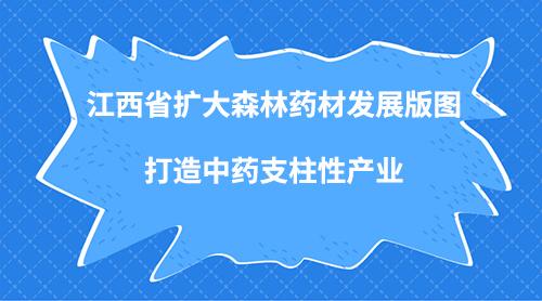 江西省扩大森林药材发展版图 打造中药支柱性产业