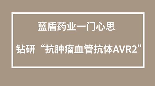 """蓝盾药业一门心思钻研""""抗肿瘤血管抗体AVR2"""""""