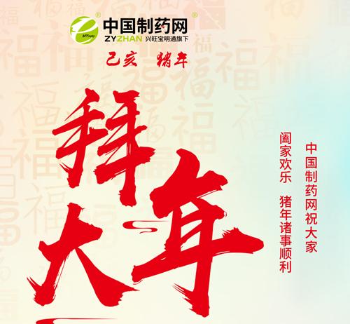 中国制药网2019年春节放假通知