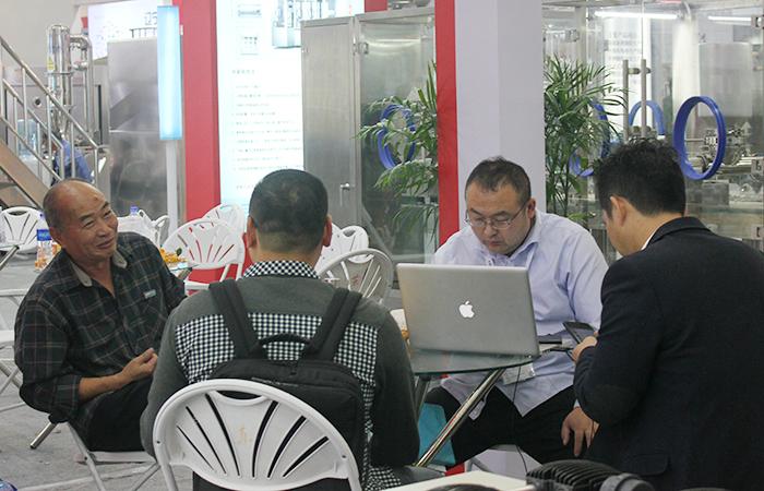 上海英華實業有限公司圓滿參加第56屆藥機展