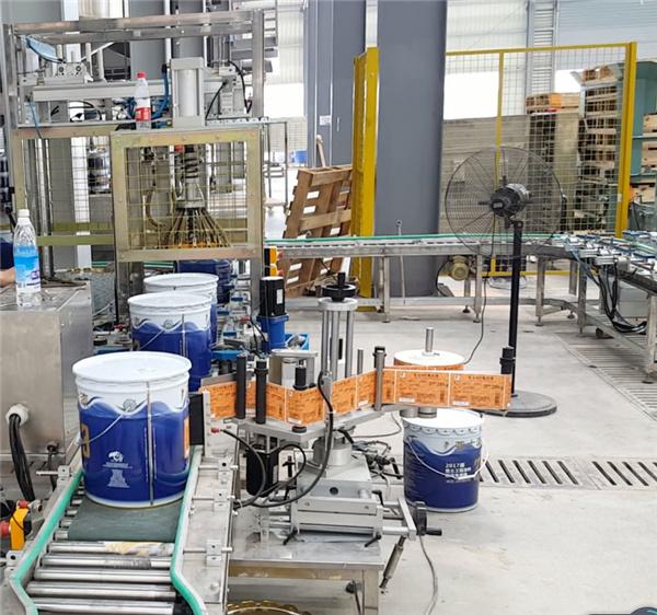 25L涂料灌装机 18升方桶灌装设备