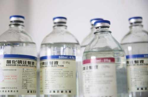 玻璃输液瓶耐水性试验方案